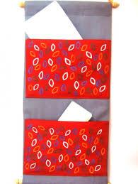 Fabric Magazine Holder Exclusive Ethnic Indian Handmade Fabric Wall Hanging Magazine 91