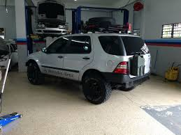 mercedes ml roof racks 14 best mercedes ml off road images on pinterest offroad cars