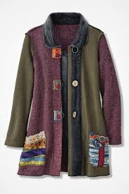 Artisan Ny Size Chart Artisan Dream Textured Patchwork Jacket Coldwater Creek