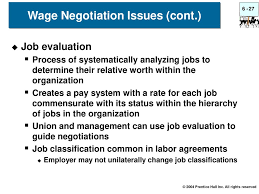 wage negotiations process collective bargaining ppt download