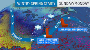 how does a nor easter form will a noreaster kickoff spring with east coast snow the weather