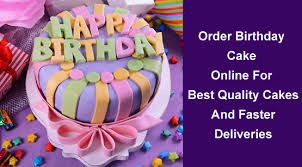 Order Birthday Cake Online For Best Quality Cakes And Faster