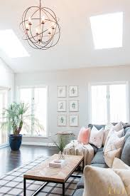 our open concept living room with