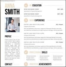 Free Creative Resume Templates Word Best Free Clean Resume