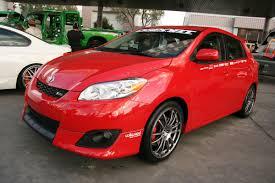 Red 2009 Toyota Matrix on Enkei Wheels - 4 | MadWhips