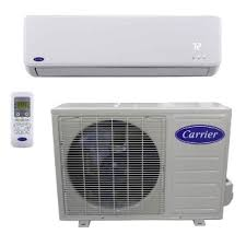 carrier split system. heating and cooling - ductless comfort™ residential highwall air conditioner system 38/40mfc carrier split r