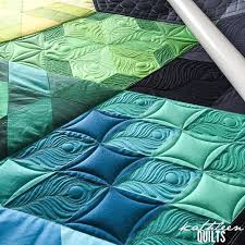 Best 25+ Peacock quilt ideas on Pinterest | Quilt designs, Machine ... & Kathleen Quilts: Peacock Feathers More Adamdwight.com