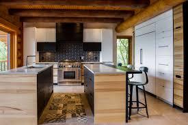 Rénovation Maison Bois Rond Bord De Leau Kalla Cuisine Design