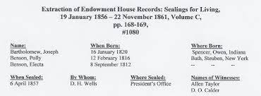 Documents of Polly Benson (1816-1912)