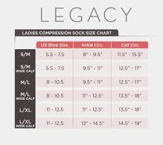 Legacy Graduated Compression Socks 4 Pack Walmart Com