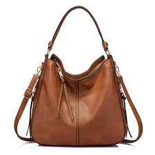 handbags for women hobo bag bucket purse faux leather
