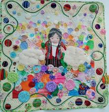 A whole lot of lovely quilts…. | Thimbles and Teapots & Mexican quilt Adamdwight.com