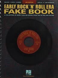 Rock Charts 2001 Early Rocknroll Era Fake Book Fake Books Hal Leonard