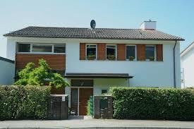 Haustür Mit Fenster Allgemeines Und Zusammengesetzt Holzfassade
