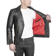 defector black leather jacket