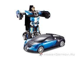 <b>Радиоуправляемый трансформер MZ</b> Bugatti Veyron 1/14