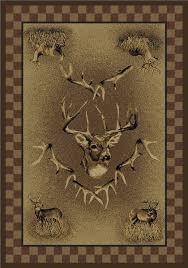outstanding united weavers marshfield whitetail ridge deer area rug inside deer area rug modern