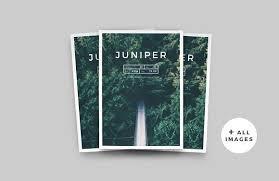 Company Portfolio Template Stunning J U N I P E R Magazine Portfolio Magazine Templates Creative