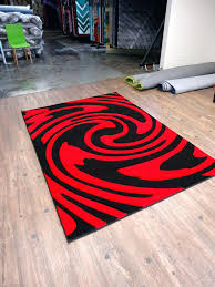 red and black rugs area rugs magnificent cool design red black circles gy rug inside the red and black rugs
