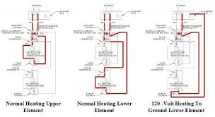 electric water heater red reset button tripping troubleshooting guide wiring diagram typical to residential 240 volt non simultaneous operation water heaters