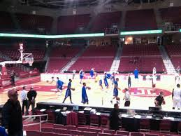 Liacouras Center Seating Chart Liacouras Center Section 103 Row K Seat 10 Temple Owls