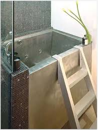 Japanese Soaking Tub Shower Small Space