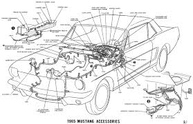 1965 mustang wiring diagrams average joe restoration 1965 mustang accessories pictorial or schematic