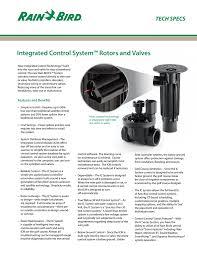 Rain Bird Sprinkler Design Software Rb751e Ic Acme Ds Manualzz Com