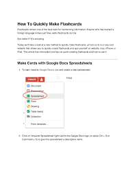 MakeYourOwn Math Flashcards  Excel Math BlogMake Flashcards From Excel