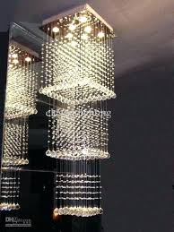 modern contemporary crystal rain drop chandelier pendant light chandeliers