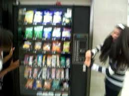 How To Get Into A Vending Machine Impressive When A Girl's Chips Gets Stuck In The Vending Machine YouTube