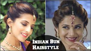 Occasion Hair Style beyhadh jennifer wingets easy bun hairstyle for indian wedding 2042 by wearticles.com