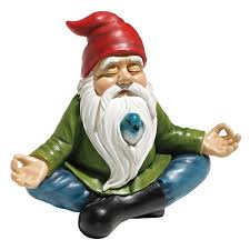 garden gnome statues.  Garden Amazoncom Design Toscano Zen Garden Gnome Statue 8 Inch Polyresin Full  Color U0026 Outdoor With Statues U