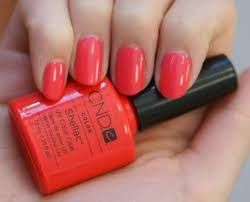 New nails <b>shellac summer</b> colour 56+ ideas | Pink <b>shellac</b> nails, <b>Cnd</b> ...