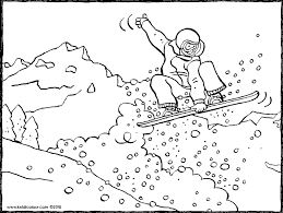 Sport Colouring Pages Page 2 Of 3 Kiddicolour