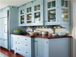 blue painted kitchen cabinets. Blue Kitchen Stroovi Painted Cabinets L
