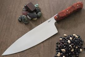 Handmade Damascus Chef Knife By Carbon River Forge  CustomMadecomCustom Kitchen Knives