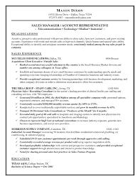 Sample Outside Sales Resume Sample S Resume Skills Professional