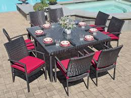 Outdoor wicker dining sets Space Saving Havana Pc Aluminum Woven Resin Wicker Dining Setwith 60 Chair King Backyard Store Havana Pc Aluminum Woven Resin Wicker Dining Set Chair King