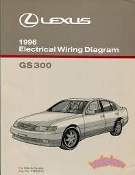 lexus manuals at books4cars com 96 gs300 electrical wiring diagrams shop manual by lexus for gs 300 96 gs300etm