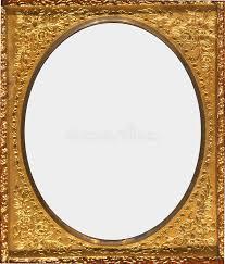 Antique Ornate Gold Frame stock image Image of border 26190673