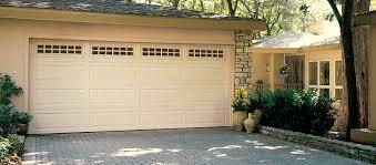 almond garage doorLong Panel Garage Doors by Overhead Doors