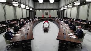 Cumhurbaşkanlığı Kabine toplantısı sona erdi - Son Dakika Haberleri