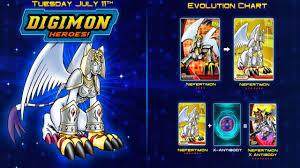 Digimon Heroes Nefertimon X Antibody