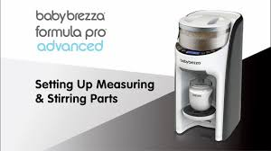 Baby Brezza Formula Chart 2018 Formula Pro Advanced Setting Up Measuring Stirring Parts