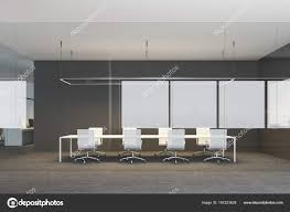 Cutting Edge Office Design Black White Office Interior Conference Room Poster Gallery