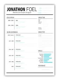pages resume templates free template minimalist