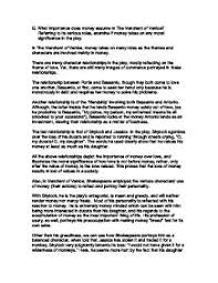 money essay essay papers argumentative essay on money happiness at  what importance does money assume in the merchant of venice page 1 zoom in