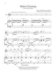 220 violin sheets found on sheethost. White Christmas Solo Violin Piano Sheet Music Digital Sheet Music Music