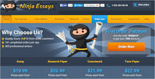 ninjaessays com review is ninja essays legit legit  criteria 1 range of writing services offered mark 18 20